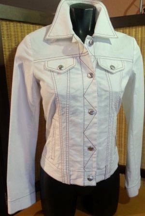 Neue Sommerjeansjacke in weiß von Jones, Gr. 34
