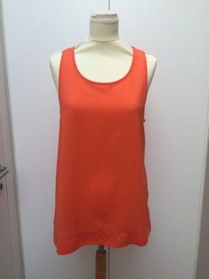 French Connection Blusa senza maniche arancio neon-arancione