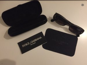 Dolce & Gabbana Glasses black-gold-colored