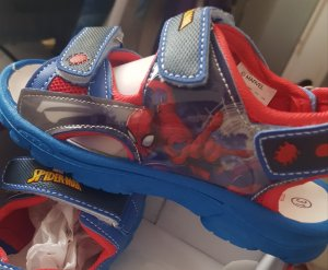 Neue Spiderman Kinder Sandalen
