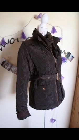 Quilted Jacket brown