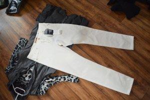 Neue strechige weisse MEXX Denim Jeans 30/32