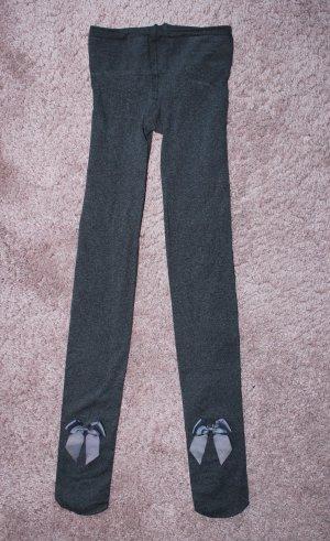 Pantalon strech gris foncé-gris anthracite
