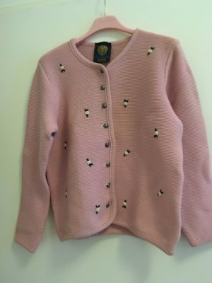 Chaleco folclórico rosa
