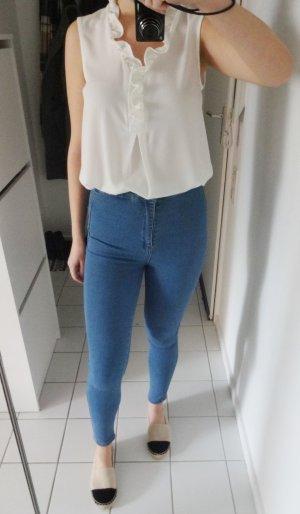 Neue Superskinny Jeans Hellblau Pull&Bear High Waist