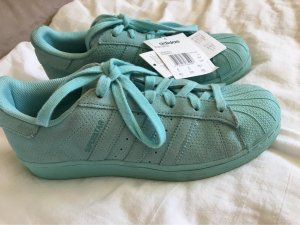 adidas stan smith Lace Shoes turquoise-light blue