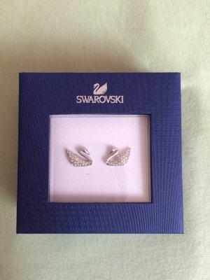 Swarovski Earring silver-colored
