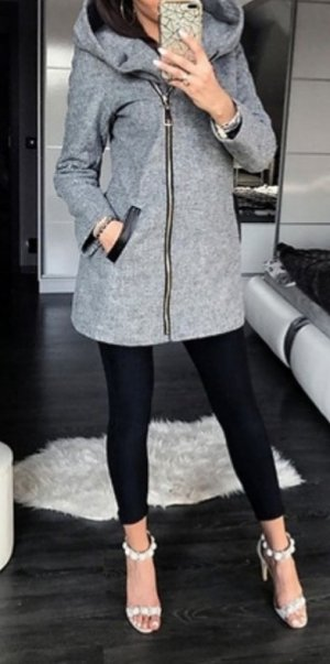 Giacca fitness grigio