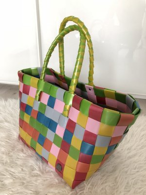 Borsa da shopping multicolore