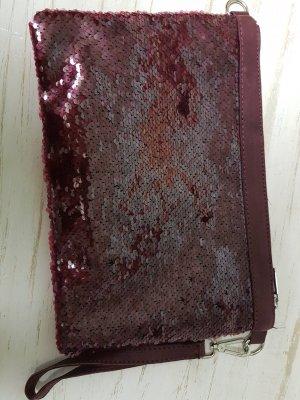 Neue Tasche mit Wendepailletten in rot
