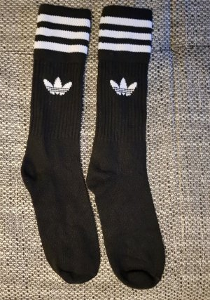 Adidas Jambière blanc-noir