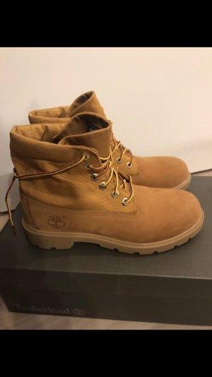 NEUE Timberland Boots Stiefeletten Stiefel wheat Gr. 37