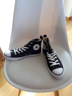 Converse Lace-Up Sneaker black-white leather