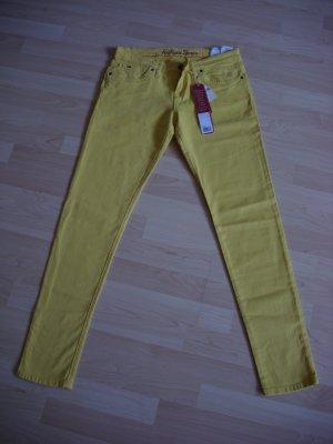 """Neue! """"Tommy Hilfiger""""-Jeans mit Etikett! W31 L32 - gelb"""