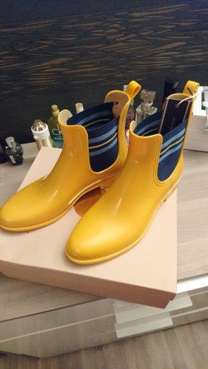 Neue Tommy Hilfiger Stiefelette in Gelb
