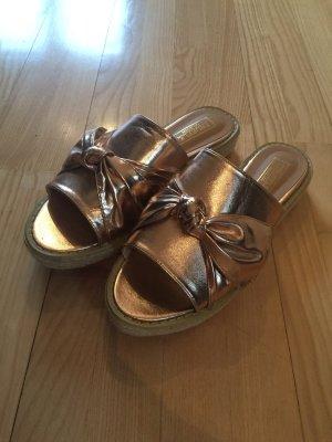 Truffle Collection Lage schoenen lichtroze