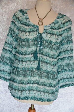 Gina Benotti Tunique-blouse vert-vert menthe coton