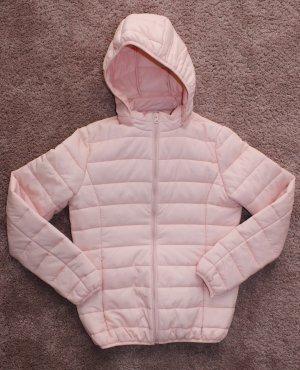 Giubbotto trapuntato rosa-rosa chiaro