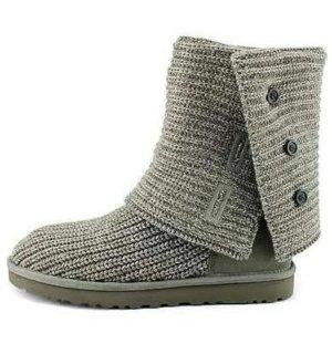 NEUE UGG Boots, grau, Größe 40