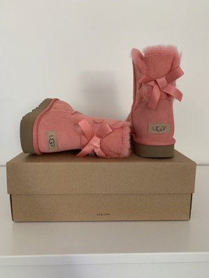 NEUE UGG's • Mini Bailey Bow ll • Apricot • 41