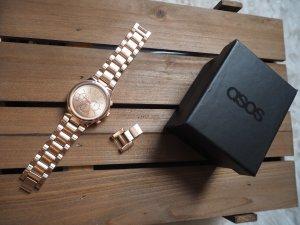 neue Uhr von Asos in Rosegold  (Schutzfolien noch vorhanden) mit Metallarmband