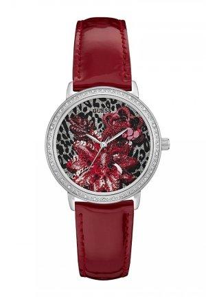 Guess Reloj rojo