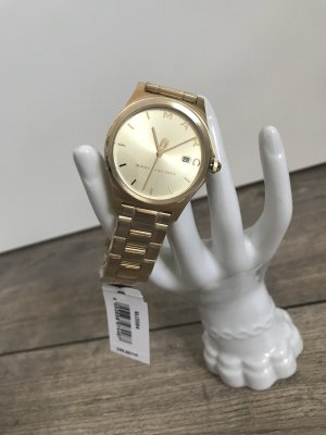 Marc Jacobs Orologio con cinturino di metallo oro