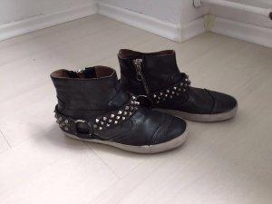 Neue und ungetragene Stiefeletten aus Leder der Marke Crime in 36 !
