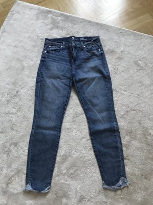 7 For All Mankind Vaquero azul aciano
