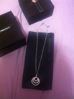 Armani Necklace silver-colored