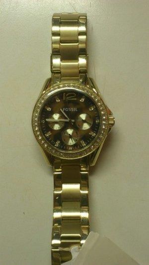 Neue ungetragene Fossil Uhr