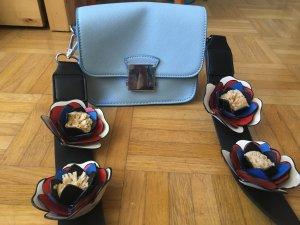 Neue ungetragene Hingucker Tasche, candyblue, bloggerstyle