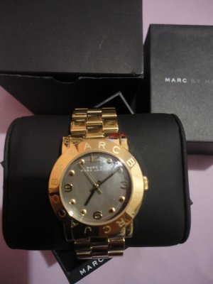 Marc Jacobs Watch gold orange-silver-colored