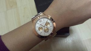 Michael Kors Watch white-gold orange