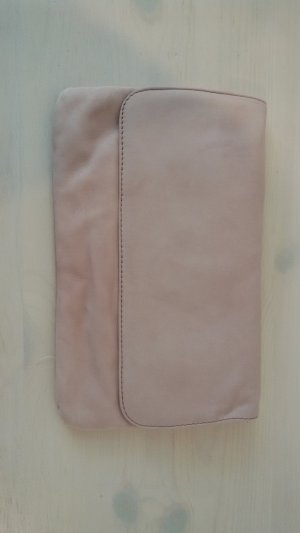 Unisa Borsa clutch rosa antico-rosa pallido Scamosciato