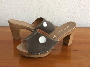 Unisa Mules multicolored leather