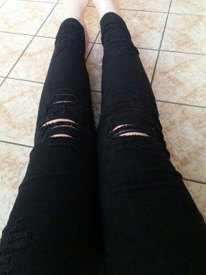 Neue Used Look Jeans