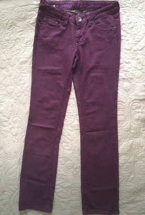 Neue violette Jeans von Esprit in 27, Länge 32