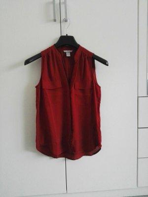 Neue Weinrote Bluse H&M