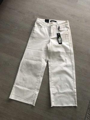 Neue weiße Culotte Jeans von Cambio