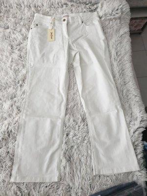 John Baner Boot Cut Jeans white