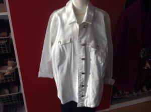 Neue weiße Jeansjacke in 54 von Bonprix