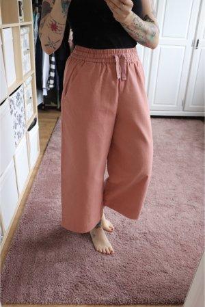 Neue Weite Hose Culotte von Monki Größe S in rosa