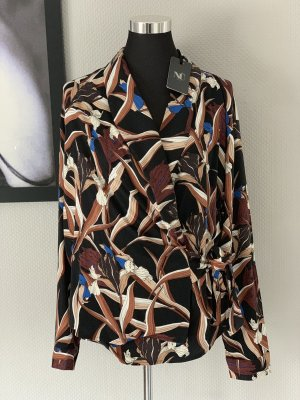 NÜ Denmark Wraparound Blouse multicolored