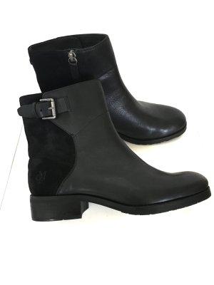 Neue Wildleder Glattleder Boots