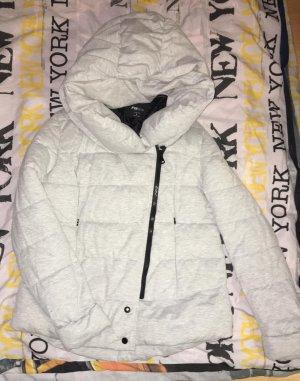 Manteau d'hiver gris clair