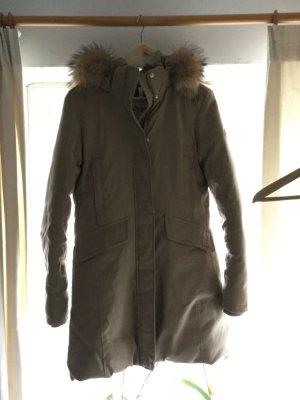 Neue Winterjacke mit Echtfell von Dolomite Gr M