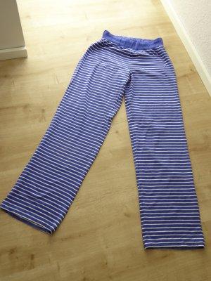 Hunkemöller Sweat Pants blue-white cotton
