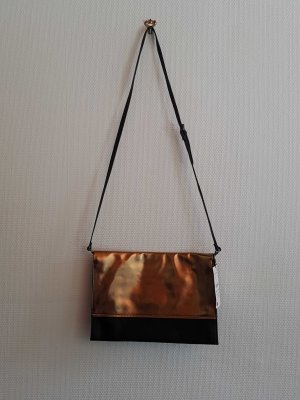 Zara Basic Handtas zwart-goud