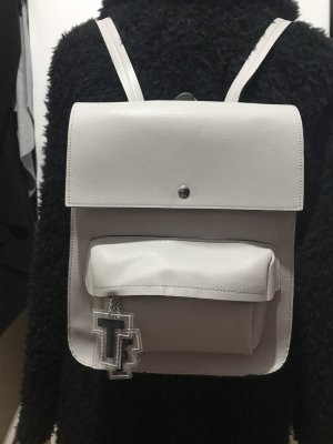 Neue Zara beige Tasche Rucksack TRF